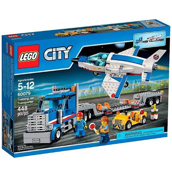 LEGO City - Transportador Avião a Jato de Treino 60079
