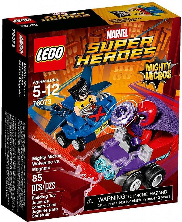 LEGO Poderosos Micros Wolverine vs Magneto 76073