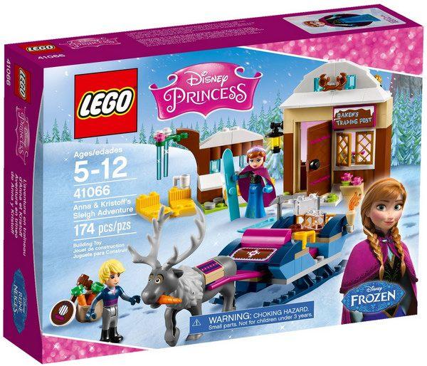 LEGO Disney Princess - A Aventura de Trenó de Anna e Kristoff 41066