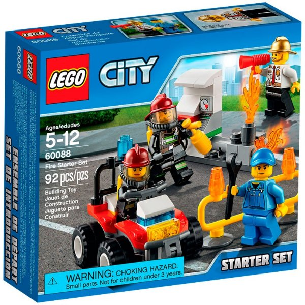LEGO City - Conjunto de Iniciação para Combate ao Fogo 60088