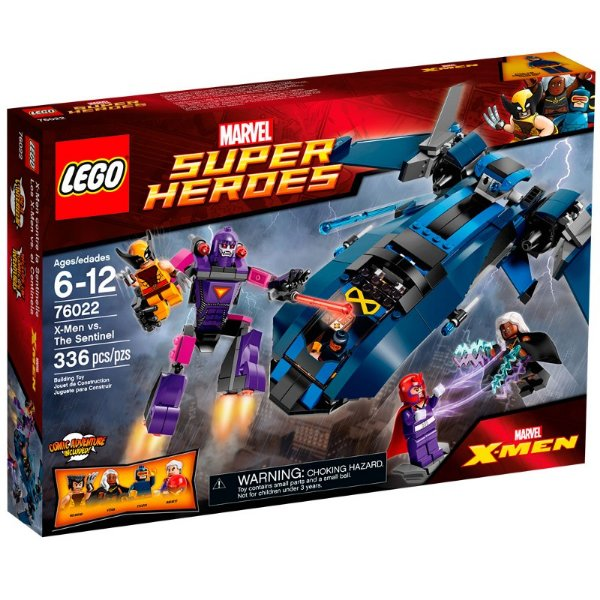 LEGO Super Heroes - X-men contra a Sentinela 76022