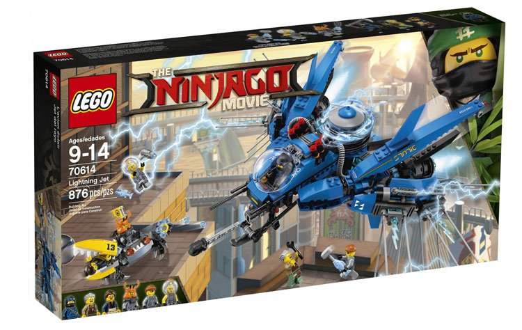 LEGO Ninjago - Avião Relâmpago 70614