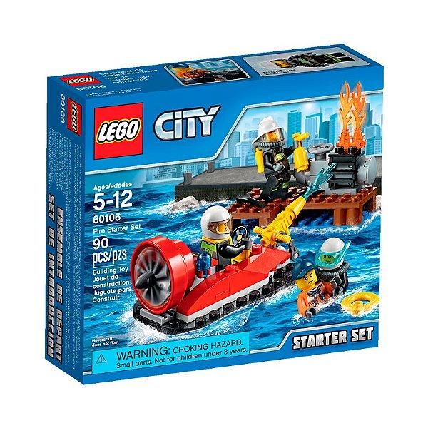 LEGO City - Conjunto de Iniciação de Combate ao Incêndio 60106