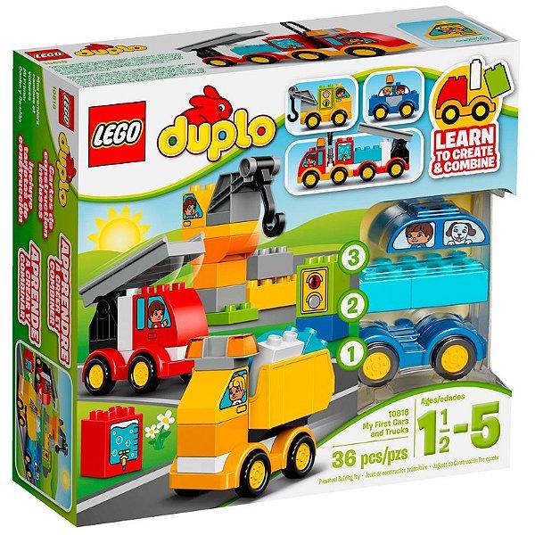 LEGO Duplo - Meus Primeiros Veículos 10816