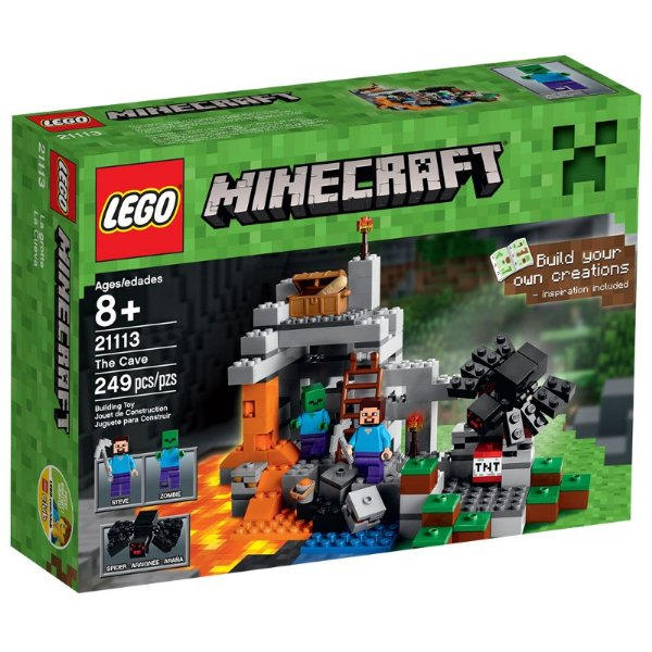 LEGO Minecraft - A Caverna 21113