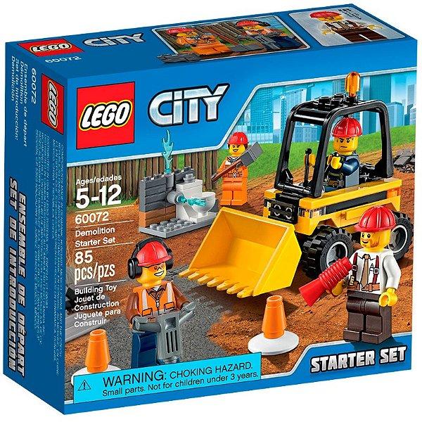 LEGO City - Conjunto de Iniciação para Demolição 60072