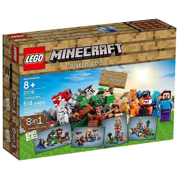 LEGO Minecraft - Caixa Criativa 21116
