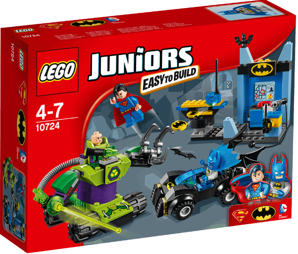 LEGO Juniors - Batman e Super-Homem contra Lex Luthor 10724
