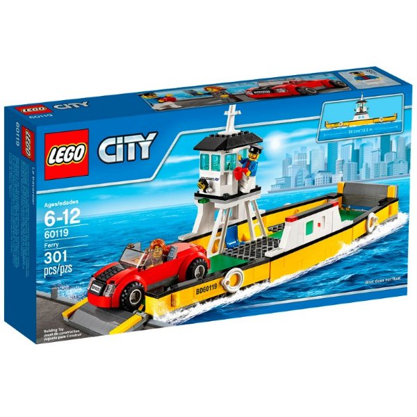 LEGO City - Balsa de Transporte 60119