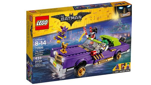 LEGO Batman Movie - O Extravagante Lowrider do Coringa 70906