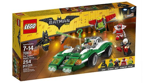 LEGO Batman Movie - Riddle, o Carro de Corrida do Charada 70903