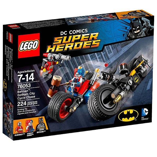 LEGO Super Heroes - Batman Perseguição de Motocicleta em Gotham City 76053
