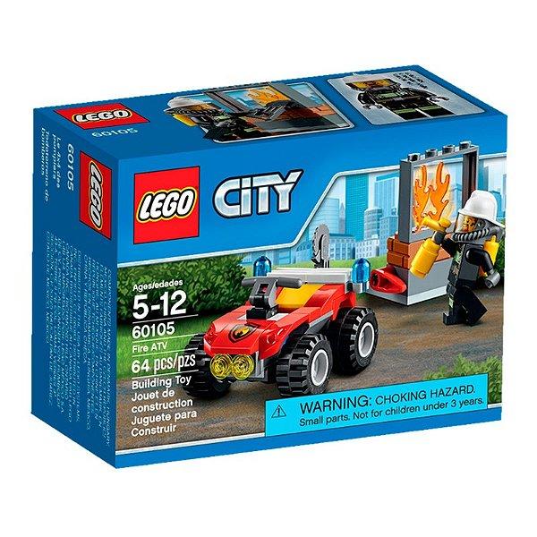 LEGO City - Quadriciclo de Combate ao Incêndio 60105