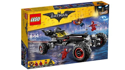 LEGO Batman Movie - O Batmóvel 70905