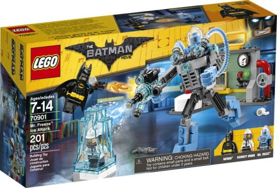 LEGO Batman Movie - Ataque de Gelo do Sr. Frio 70901