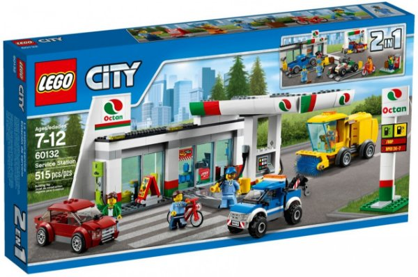 LEGO City - Posto de Gasolina 60132