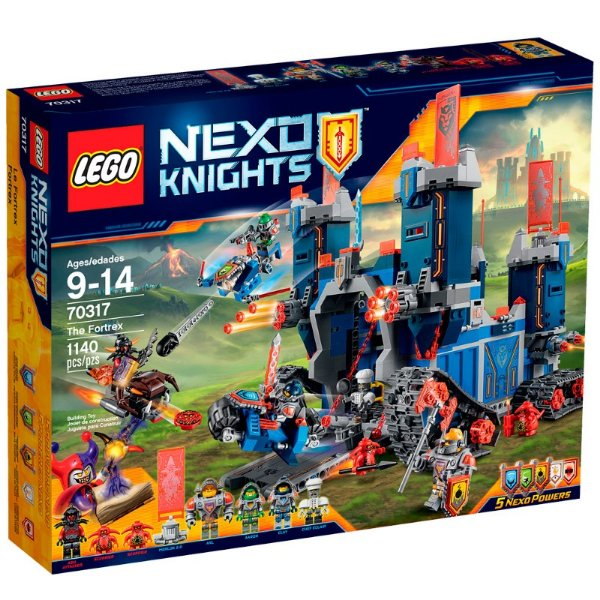 LEGO Nexo Knights - O Fortrex 70317