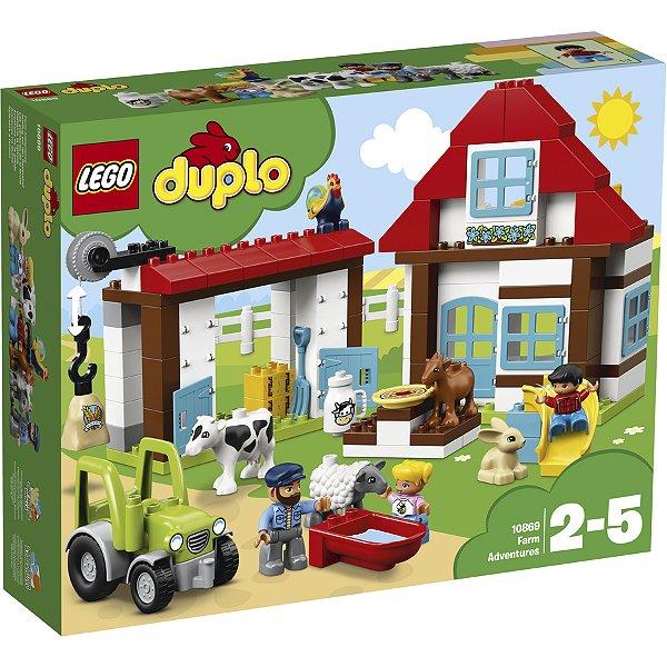 LEGO Duplo - Aventuras na Fazenda 10869