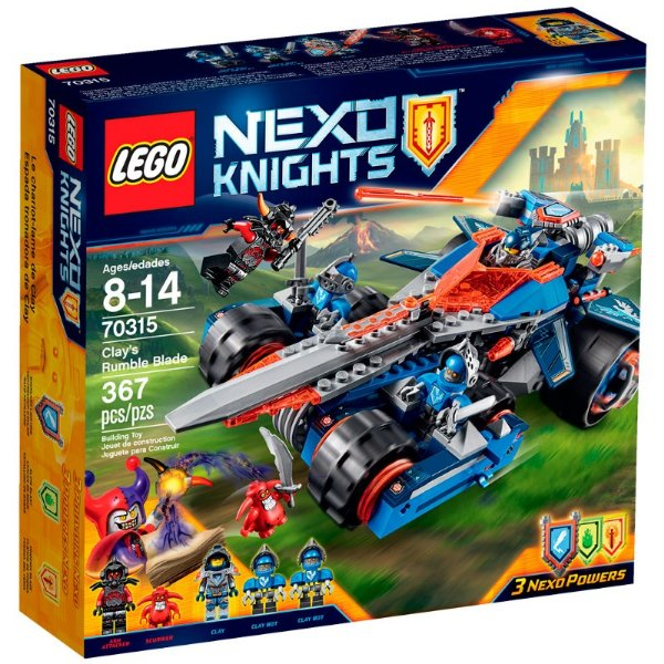 LEGO Nexo Knights - Veículo com Espada do Clay 70315