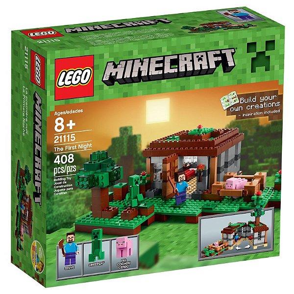 LEGO Minecraft - A Primeira Noite 21115