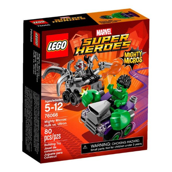 LEGO Super Heroes - Mighty Micros Hulk Vs Ultron 76066