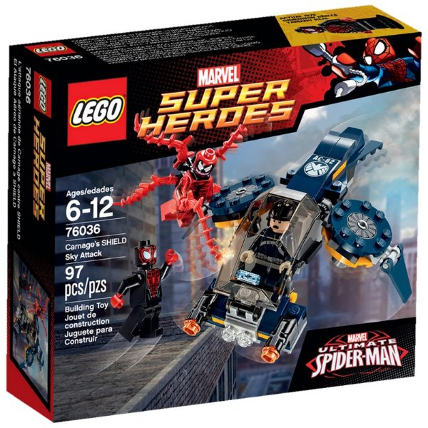 LEGO Super Heroes - Jato de Ataque da SHIELD 76036