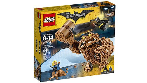 LEGO Batman Movie - O Ataque de Lama do Cara-de-Barro 70904