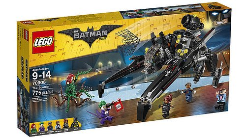 LEGO Batman Movie - O Scuttler 70908
