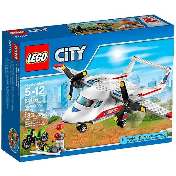 LEGO City - Avião Ambulância 60116