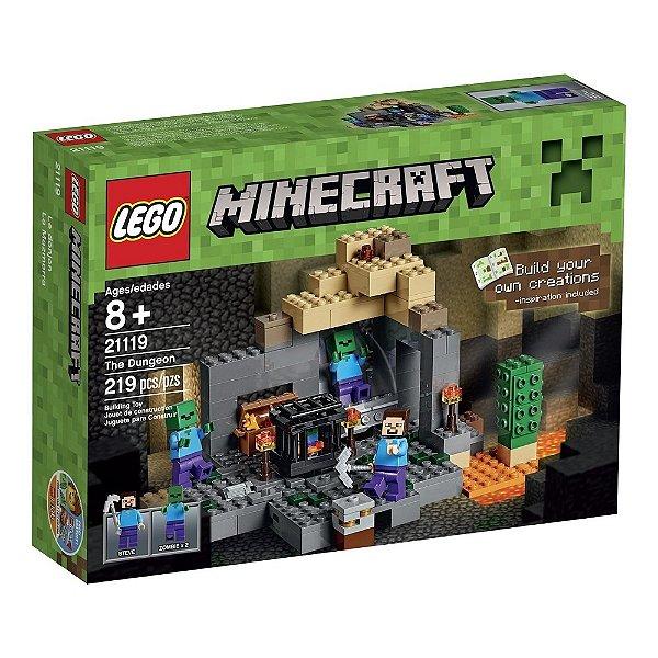 LEGO Minecraft - A Masmorra 21119