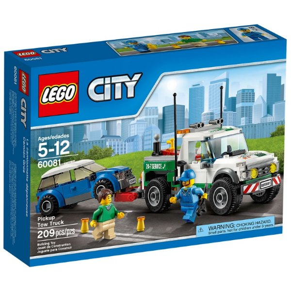 LEGO City - Caminhão Guincho e Pick Up 60081