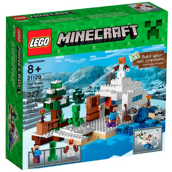 LEGO Minecraft - O Esconderijo da Neve 21120