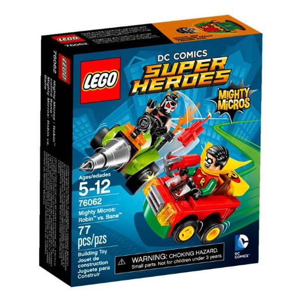 LEGO Super Heroes - Mighty Micros Robin Vs Bane 76062
