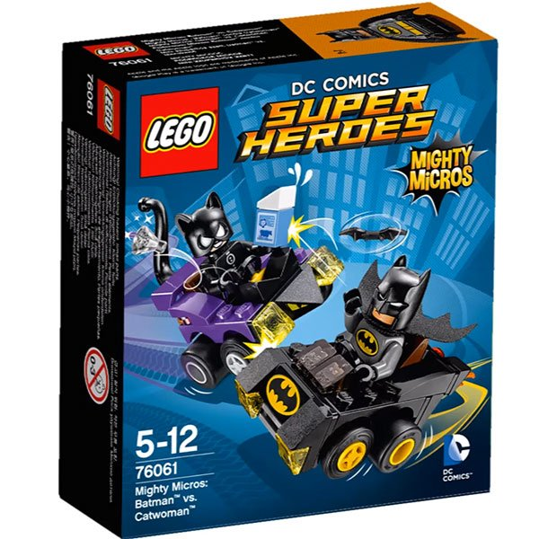 LEGO Super Heroes - Mighty Micros Batman vs Mulher-Gato 76061