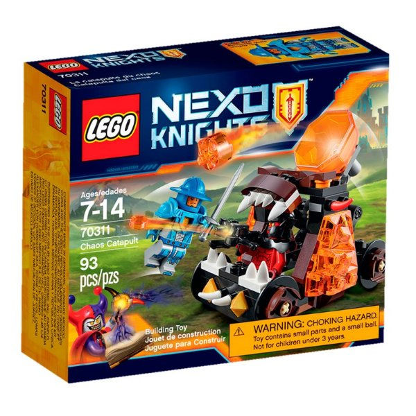 LEGO Nexo Knights - Catapulta do Caos 70311