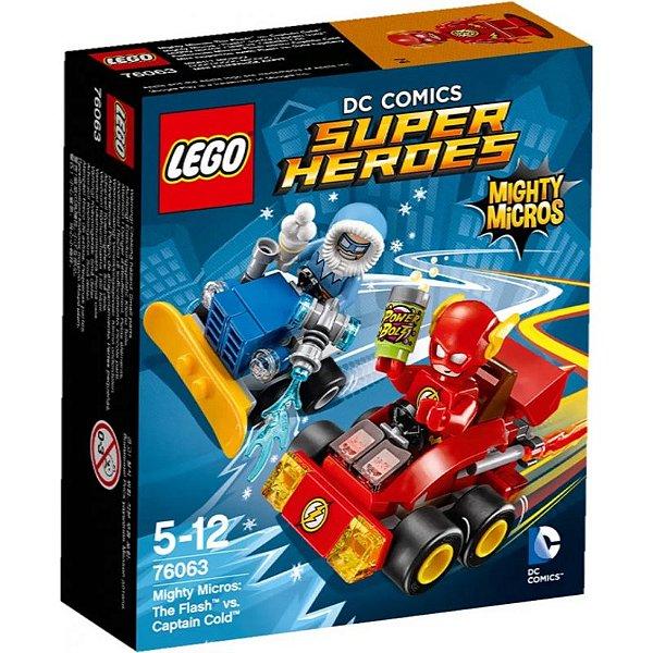 LEGO Super Heroes - Mighty Micros Flash vs Capitão Frio 76063