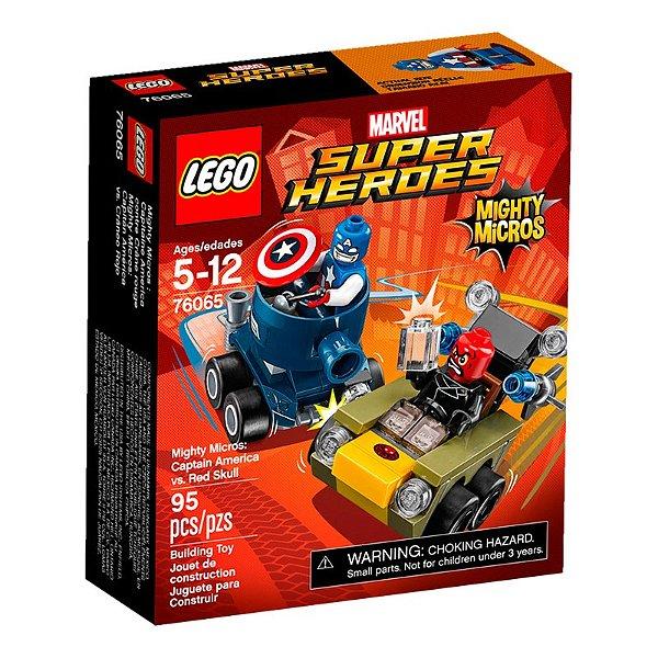 LEGO Super Heroes - Mighty Micros Capitão América Vs Caveira Vermelha 76065