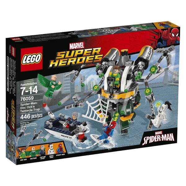 LEGO Super Heroes - Homem-aranha: A Armadilha De Tentáculos de Doctor Ock 76059