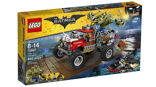 LEGO Batman Movie - O Carro de Reboque do Crocodilo 70907