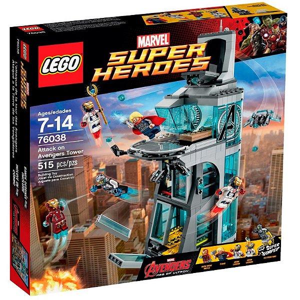 LEGO Super Heroes - Ataque na Torre dos Vingadores 76038