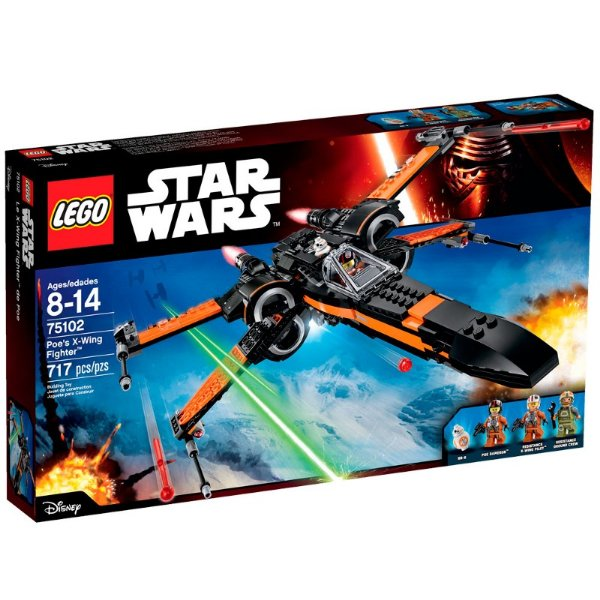 LEGO Star Wars - X-Wing Fighter do Poe 75102