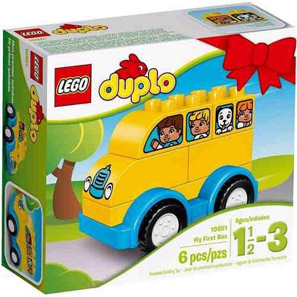 LEGO Duplo - O Meu Primeiro Ônibus 10851