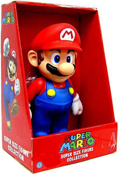 Boneco Articulado Mario Bros Collection - Mario 20cm