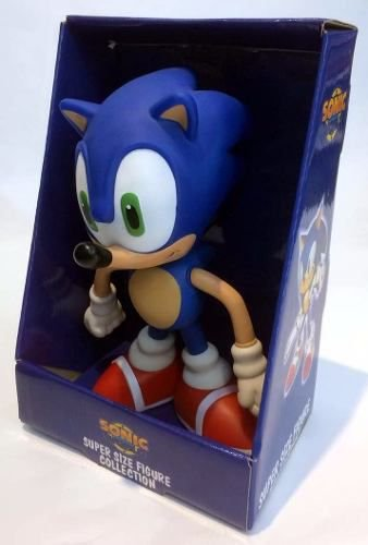 Boneco Articulado Sonic Collection - Sonic 24cm