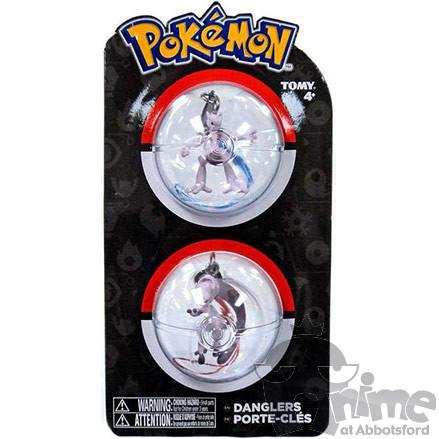 Pokémon Chaveiro - Mewtwo X e Mewtwo Y