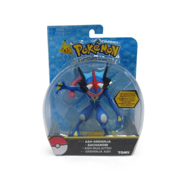Pokémon Figuras de Ação - Ash-Greninja