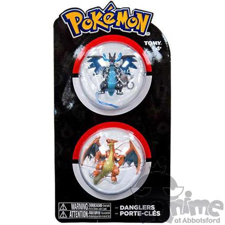 Pokémon Chaveiro - Charizard e Mega Charizard X