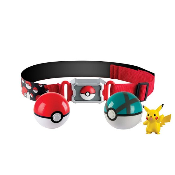 Pokémon Cinto De Treinador - Pack Net Ball