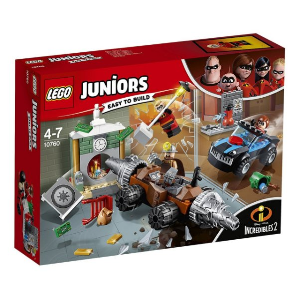 LEGO Juniors - Assalto ao Banco 10760