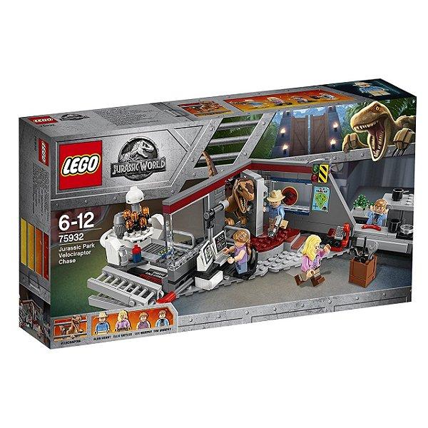 LEGO Jurassic World - Perseguição De Raptor No Parque 75932